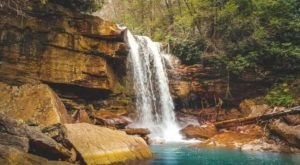 There's An Emerald Waterfall Hiding In West Virginia That's Too Beautiful For Words