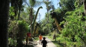 Walk With The Dinosaurs At This Prehistoric Park In Florida