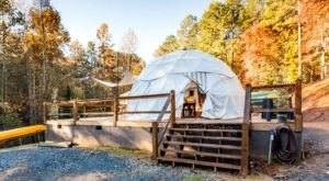 The Glamping Dome In Georgia That Puts You Smack Dab In The Mountains