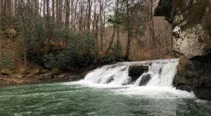Your Inner Adventurer Will Love The Hike To This Aquamarine Waterfall In West Virginia