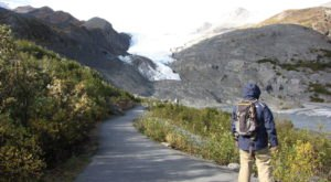 Hike This Easy Trail Out To One Of Alaska's Most Beautiful Glaciers