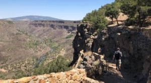 The Easy Gorge Trail In New Mexico That Will Make You Feel On Top Of The World