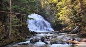 The Hike To This Pretty Little Idaho Waterfall Is Short And Sweet