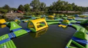 This Giant Inflatable Water Park In Nebraska Proves There's Still A Kid In All Of Us