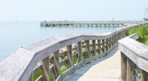 Spend All Day On This Dreamy Virginia Boardwalk Surrounded By White Sandy Beaches