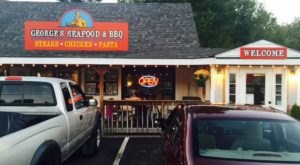 Combine Your Love Of BBQ And Seafood At This Rural New Hampshire Eatery