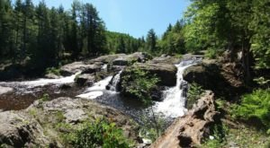 Your Kids Will Love This Easy 1.5-Mile Waterfall Hike Right Here In Michigan