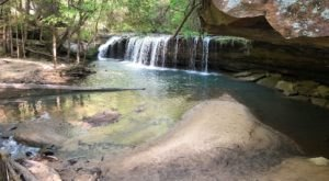 Your Kids Will Love This Easy 2-Mile Waterfall Hike Right Here In Kentucky