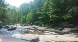 This Short Hike In South Carolina Leads To The Dreamiest Swimming Hole