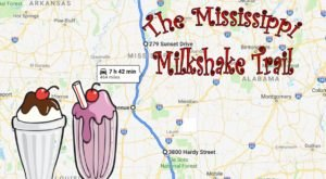 The Mississippi Milkshake Trail That's Perfect For A Summer Day Trip