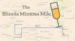 Rise And Shine With This Memorable Mimosa Mile In Illinois