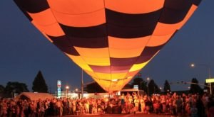 This Magical Hot Air Balloon Glow In Utah Will Light Up Your Summer