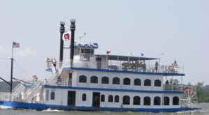 Enjoy An Epic Sightseeing Cruise On This New Paddlewheel Boat In Oklahoma