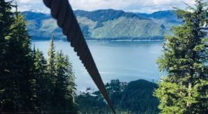 The World's Largest Zipline Is Right Here In Alaska And It's The Adventure Of A Lifetime