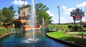 This Pirate Themed Mini Golf Course In Alabama Is Insanely Fun