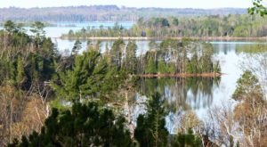 Get Away From It All At This Crystal Clear Lake In Minnesota
