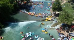 There's Nothing Better Than Austin's Natural Lazy River On A Summer's Day