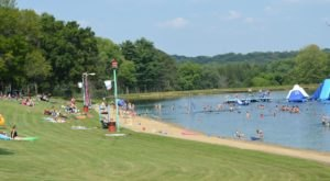 The Little-Known Swimming Hole And Campground In Ohio You Can't Pass Up