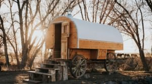 Stay The Night In A Old-Fashioned Covered Wagon On This Colorado Ranch