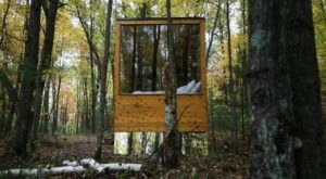 Escape To Wisconsin's Tiny, Off-Grid Cabin For An Unforgettable Getaway