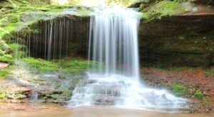 The Hike To This Little-Known Wisconsin Waterfall Is Short And Sweet