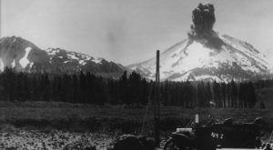 This Footage Of Lassen Peak Volcano Erupting In Northern California 100 Years Ago Is Truly Incredible