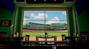 Sit Inches From The Game At This Secret Massachusetts Restaurant On A Baseball Field