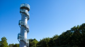 Climb To The Top Of A 106-Foot Tower For The Most Breathtaking Views In Iowa