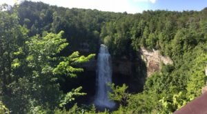 Fall Creek Falls In Tennessee Is The Highest Waterfall East Of The Mississippi River