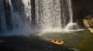 The Boat Tour That Gets You Impossibly Close To Kentucky's Largest Waterfall