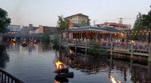 This Rhode Island River Patio Restaurant Is Perfect For A Summer Day