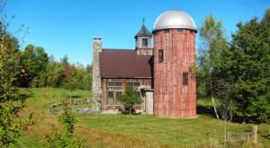 Staying Overnight In This Silo Farm Cottage In Vermont Is A Country Dream