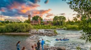 This Picturesque Montana City Right On The River Is A Nature Lover's Dream Come True