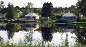 The Most Unique Campground Near Detroit That's Pure Magic