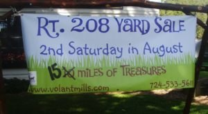 Uncover A Trove Of Treasures At This 15-Mile Yard Sale Near Pittsburgh
