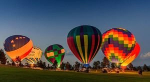 This Magical Hot Air Balloon Glow In South Dakota Will Light Up Your Summer