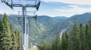 Take A Scenic Chair Lift Ride To See New Mexico Nature From All New Heights