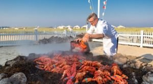 This Seafood Feast On The Beach In Massachusetts Is What Summer Dreams Are Made Of