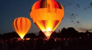 This Magical Hot Air Balloon Glow In Montana Will Light Up Your Summer