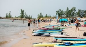 The Surf Festival In Michigan That Makes For A Totally Tubular Beachfront Outing