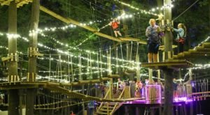 The Moonlight Adventure Course In Connecticut You'll Want To Experience For Yourself