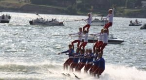 Marvel Over This Water Skiing Show And Lighted Boat Parade In North Dakota This Summer