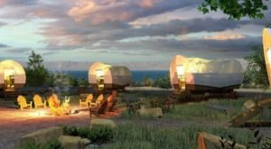 Stay The Night In A Old-Fashioned Covered Wagon At This New York Camping Park