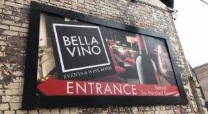 Sip Wine In A Private Underground Wine Cave At Bella Vino, A Cozy Event Space In Ohio
