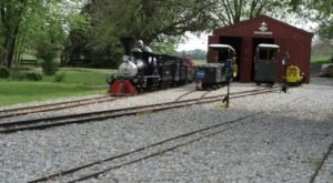 You'll Fall In Love With This Toy Train Barn Hiding In West Virginia