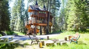 This Beautiful Montana Treehouse Will Make All Of Your Childhood Dreams Come True