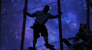 The Moonlight Adventure Course In Pennsylvania You'll Want To Experience For Yourself