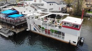 This Floating Restaurant In New Hampshire Is Such A Unique Place To Dine