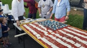 You've Never Seen Anything Quite Like This Patriotic Pizza In New Jersey