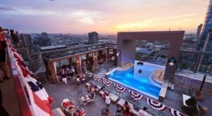 Stay Cool This Summer At This Poolside, Rooftop Restaurant In Downtown Nashville